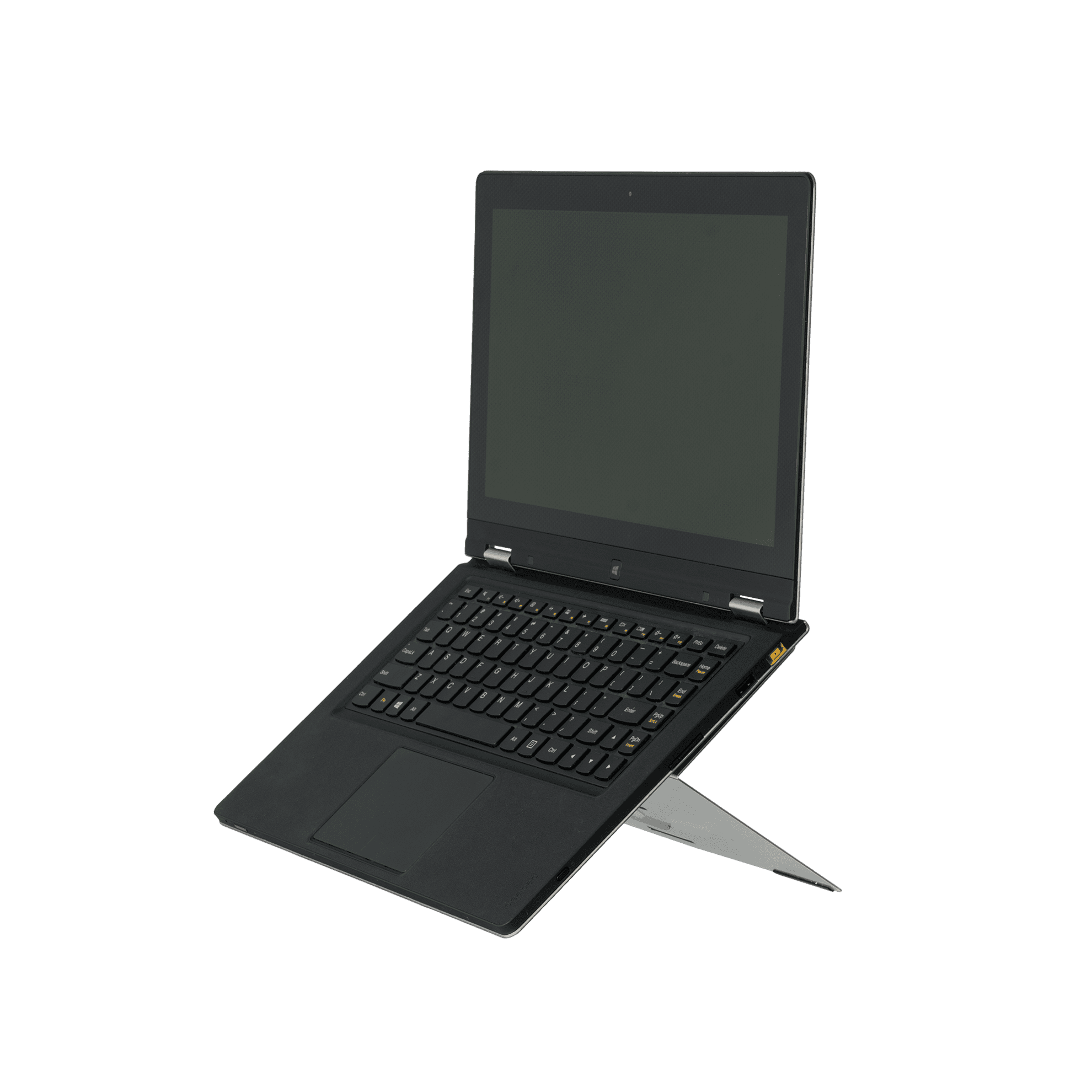 R-Go Riser Attachable Laptopständer, verstellbar, silber - 1