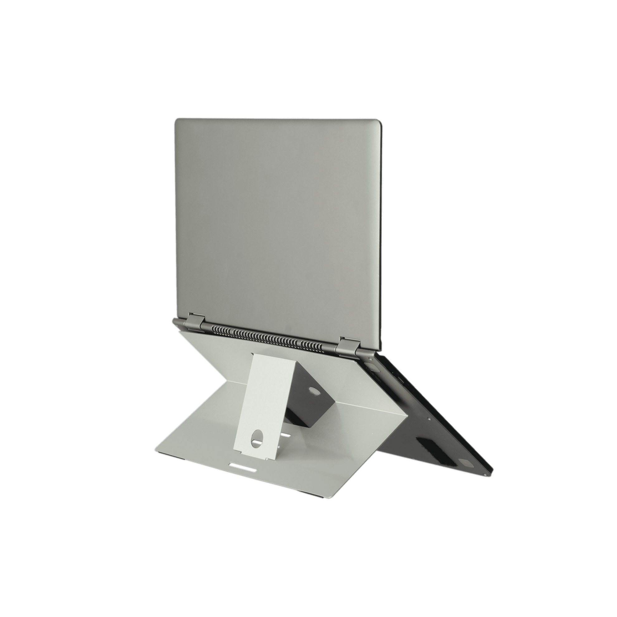 R-Go Riser Attachable Laptopständer, verstellbar, silber - 2